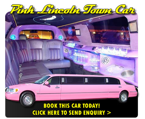 8 Seater Pink Limo