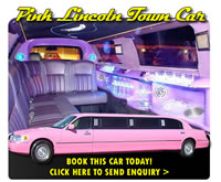 Pink Limo (8 Seater)